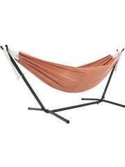 Vivere Vivere Sunbrella - Hangmat met Standaard 250 cm - Coral