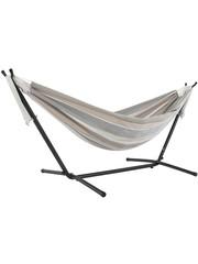 Vivere Vivere Hangmat Sunbrella met Standaard 250 cm - Dove
