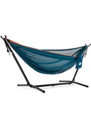 Vivere Vivere Mesh - Hangmat met Standaard 250 cm - Blue/Orange