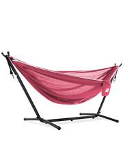 Vivere Vivere Mesh - Hangmat met Standaard 250 cm - Roze/celeste