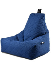 Extreme Lounging Extreme Lounging Zitzak B-bag Mighty-b Quilted Royal Blauw