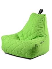 Extreme Lounging Extreme Lounging Zitzak B-bag Mighty-b Quilted Lime