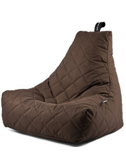 Extreme Lounging Extreme Lounging Zitzak B-bag Mighty-b Quilted Bruin