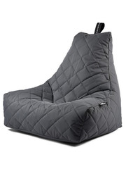 Extreme Lounging Extreme Lounging Zitzak B-bag Mighty-b Quilted Grijs