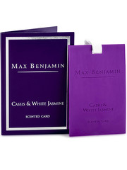 Max Benjamin Max Benjamin Geurkaart Classic Cassis & White Jasmin