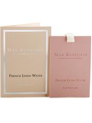 Max Benjamin Max Benjamin Geurkaart Classic French Linen Water