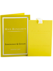 Max Benjamin Max Benjamin Geurkaart Classic Lemongrass & Ginger