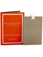 Max Benjamin Max Benjamin Geurkaart Classic Mimosa & Sweet Amber