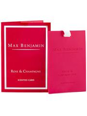 Max Benjamin Max Benjamin Geurkaart Classic Rose & Champagne