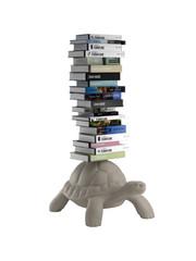 Qeeboo Qeeboo Turtle Carry Bookcase - Dove Grey