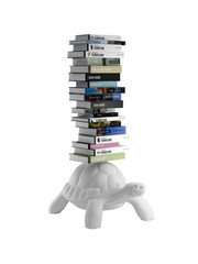 Qeeboo Qeeboo Turtle Carry Bookcase - White