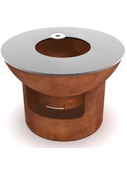 Artola Artola fiQ Barbecue Medium inclusief Onderstel Medium Roest