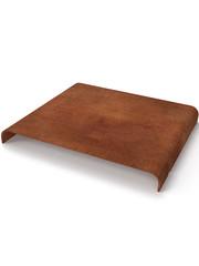 Artola Artola Plank Metaal voor Qrib Cortenstaal