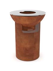 Artola Artola fiQ Barbecue Medium inclusief Onderstel Groot Roest