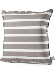 Extreme Lounging Extreme Lounging b-cushion Pattern Awning Stripe Silver Grey (50x50cm)