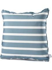 Extreme Lounging Extreme Lounging b-cushion Pattern Awning Stripe Sea Blue (50x50cm)