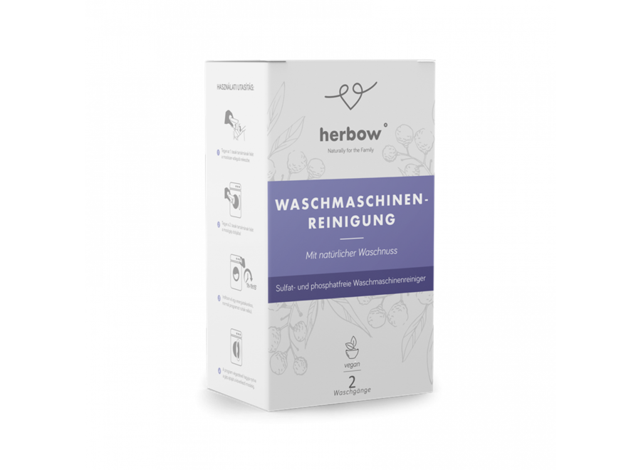 Herbow Waschmaschinen Detox-Reiniger