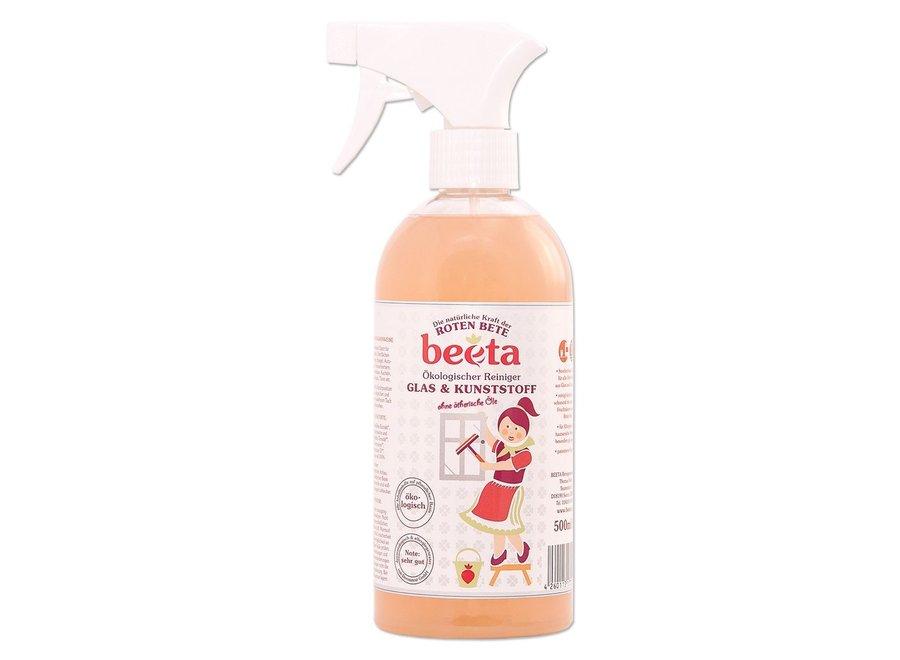 beeta G+ Glasreiniger, 500 ml Sprühfl., parfümfrei