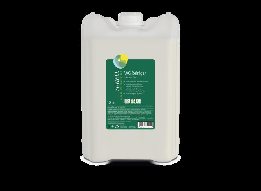 Sonett WC-Reiniger Zeder-Citronella 10L