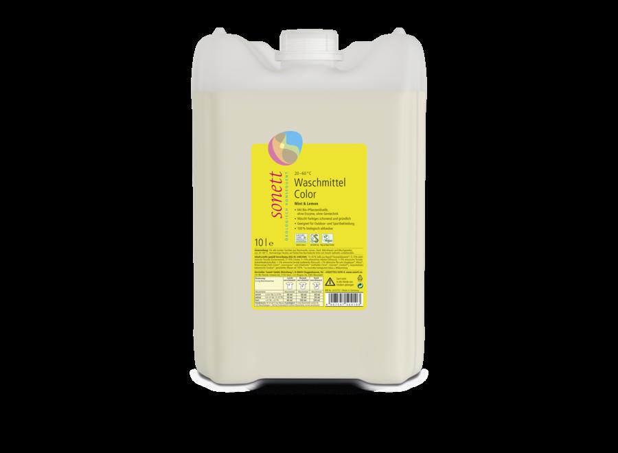 Sonett Waschmittel Color Mint & Lemon 10L