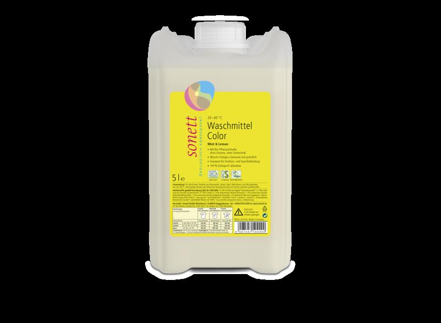 Sonett Waschmittel Color Mint & Lemon 5L