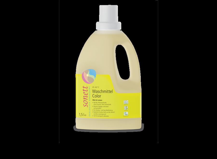 Sonett Waschmittel Color Mint & Lemon 1,5L