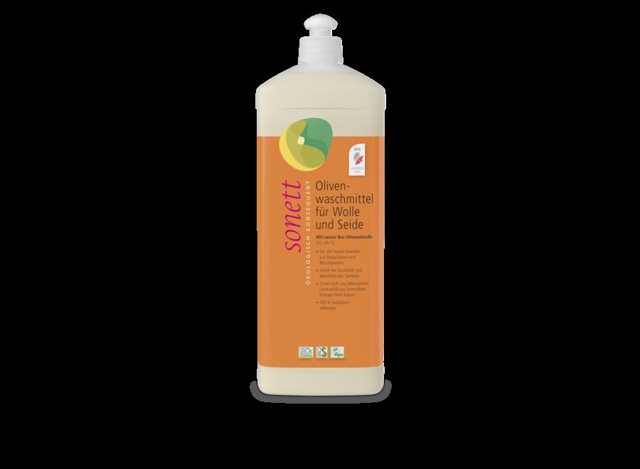 Sonett Olivenwaschmittel für Wolle und Seide 1L