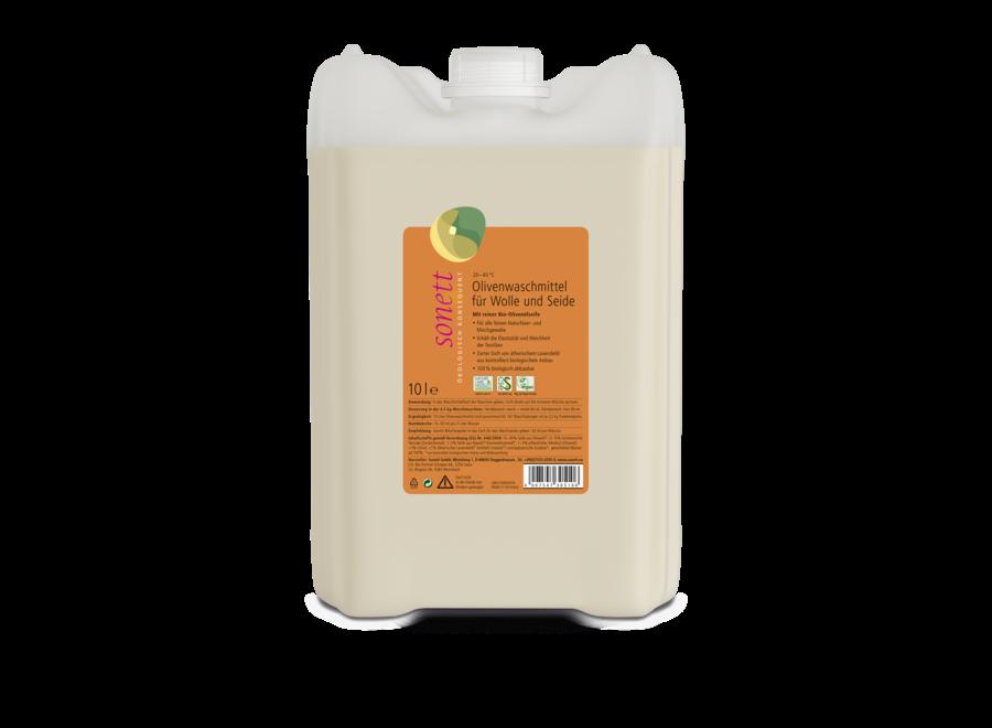 Sonett Olivenwaschmittel für Wolle und Seide 10L