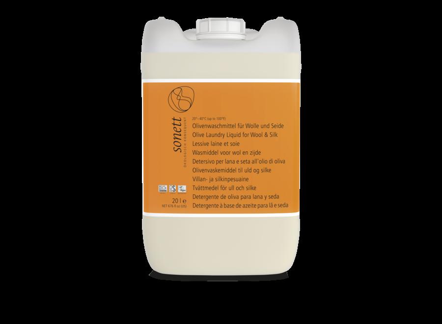 Sonett Olivenwaschmittel für Wolle und Seide 20L