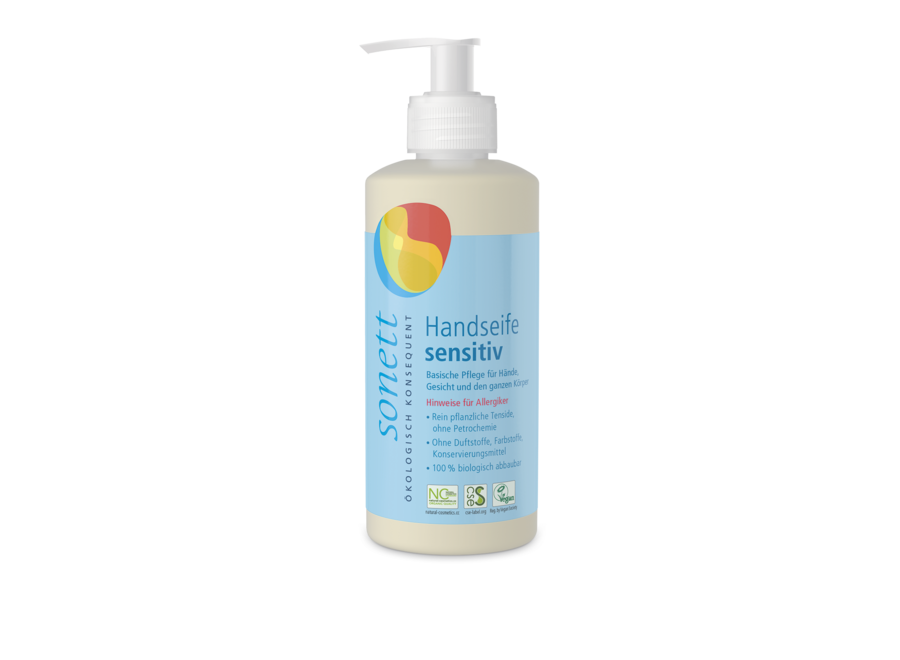 Sonett Handseife sensitiv 0,3L
