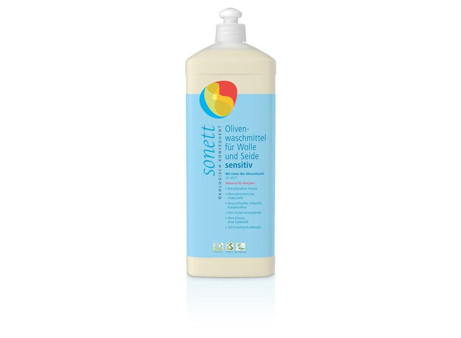 Olivenwaschmittel für Wolle und Seide sensitiv von Sonett