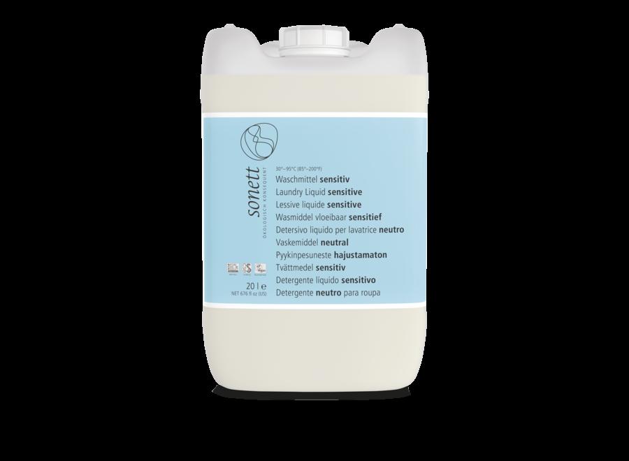 Sonett Waschmittel flüssig sensitiv 20L