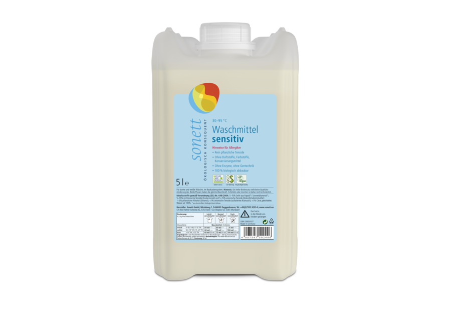 Sonett Waschmittel flüssig sensitiv 5L