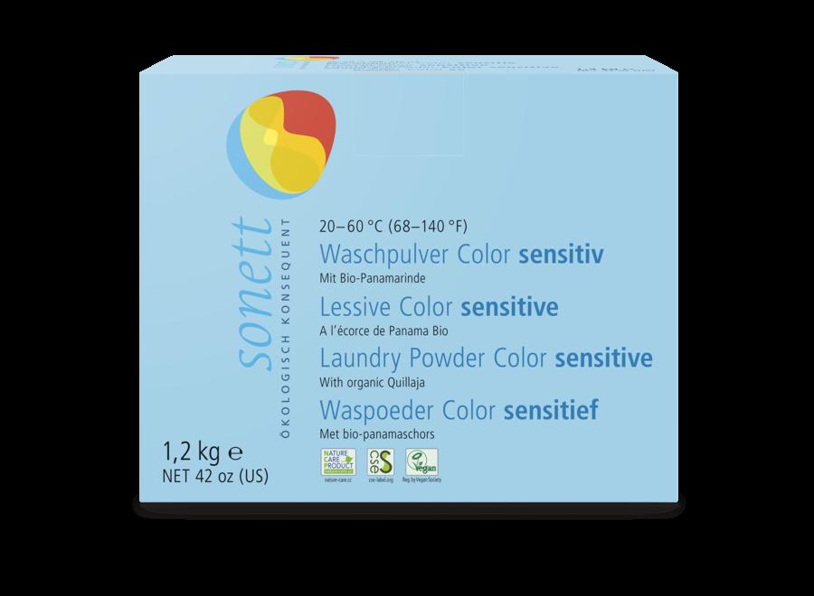 Sonett Waschpulver Color sensitiv 1,2 KG