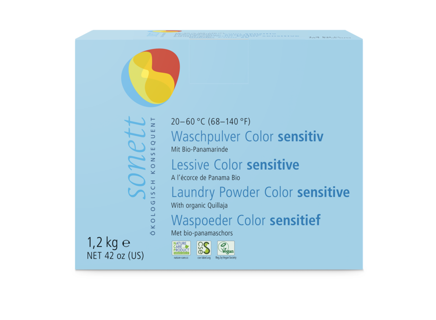 Waschpulver Color sensitiv von Sonett