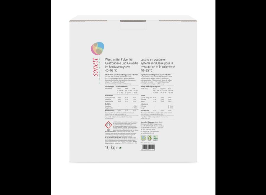 Sonett Waschmittel Pulver für Gastronomie & Gewerbe 11 KG