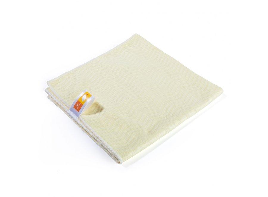Uni Sapon Mikrofasertuch Frottee gelb