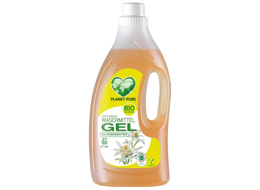 Planet Pure Bio Waschmittel Gel Alpenkräuter 1,5L