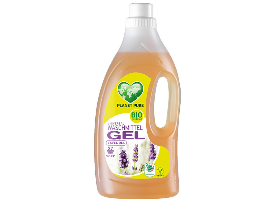 Planet Pure Bio Waschmittel Gel Lavendel 1,5L
