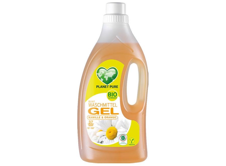 Bio Waschmittel Gel Bunt Kamille Orange von Planet Pure
