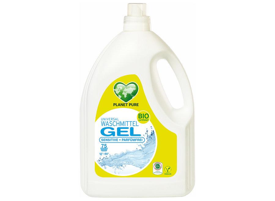 Bio Waschmittel Gel Sensitive Parfümfrei von Planet Pure