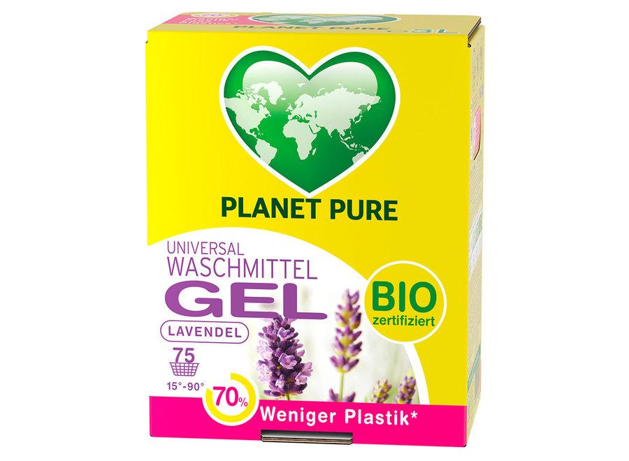 Bio Waschmittel Gel Bag in Box Lavendel von Planet Pure