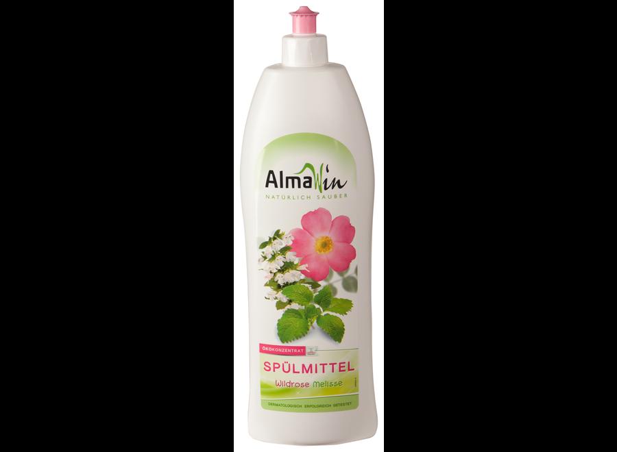 AlmaWin Spülmittel Wildrose Melisse 500 ml