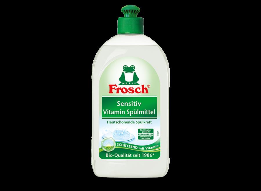 Frosch Sensitiv Vitamin Spülmittel 0,5L