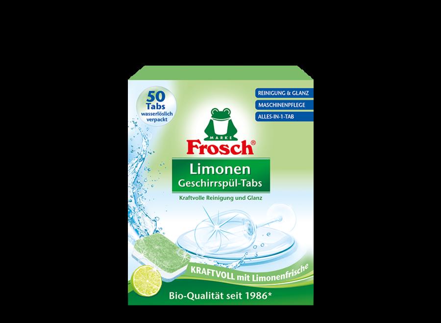 Limonen Geschirrspül-Tabs von Frosch