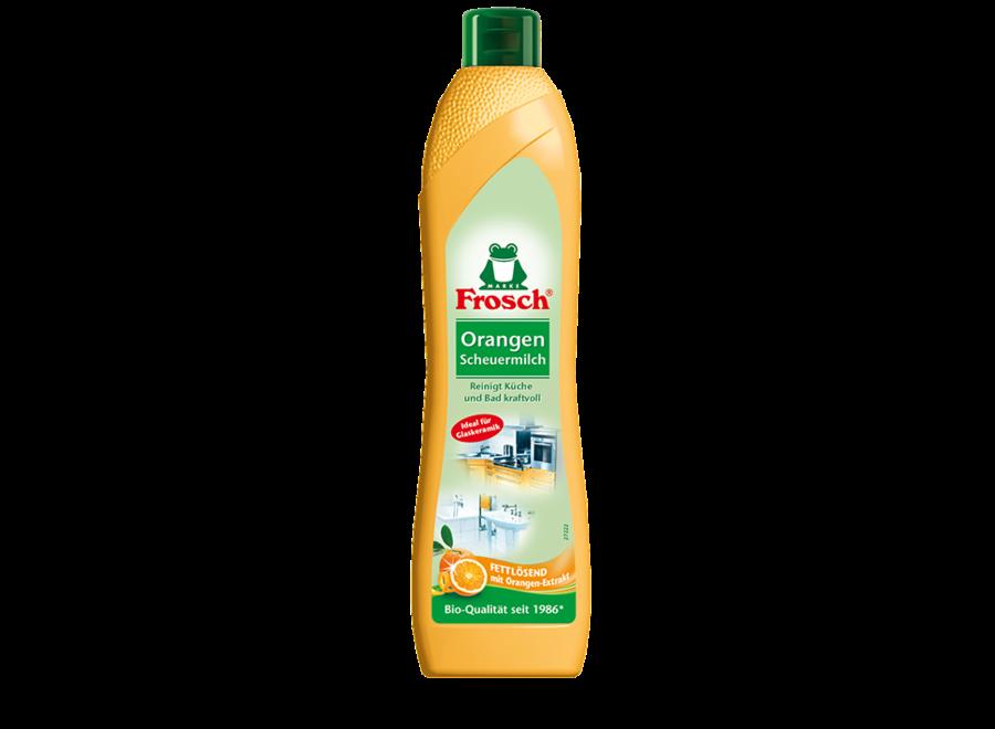 Frosch Orangen Scheuermilch 0,5L