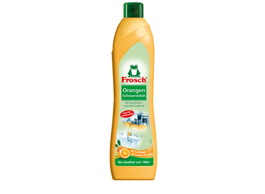 Orangen Scheuermilch von Frosch