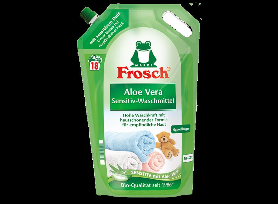 Aloe Vera Sensitiv-Waschmittel von Frosch