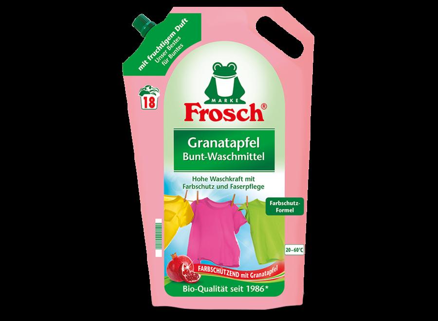 Frosch Granatapfel Bunt-Waschmittel 1,8L