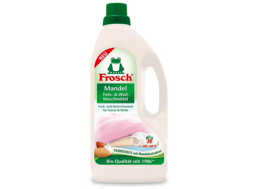 Frosch Feinwaschmittel Mandelmilch 1,5L